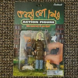 Crazy Cat Lady action figure!